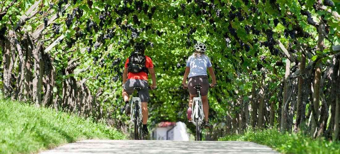 Mit dem Fahrrad durch das Pustertal