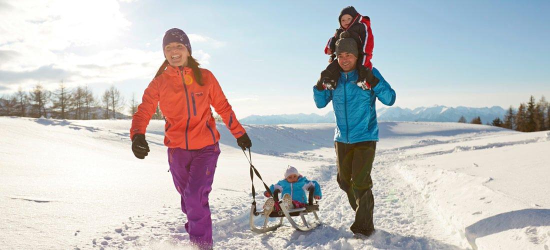 Slittino in Val d'Isarco: Tanto divertimento per tutta la famiglia