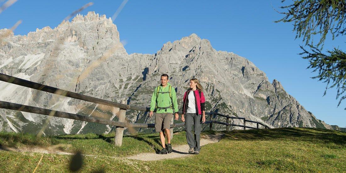 Wanderurlaub in Südtirol: Über Stock und Stein